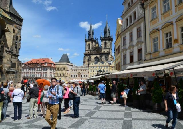 В Чехии определили самых экономных и расточительных  туристов
