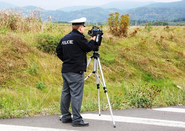 Чешская полиция сегодня проводит массовые проверки скоростного режима