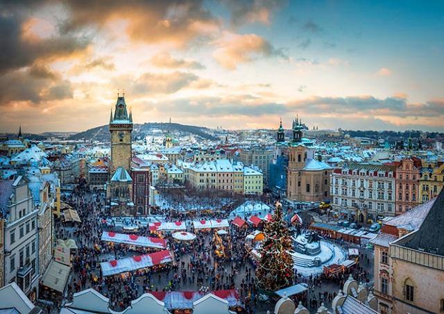 Рождество в Праге пройдет без крупных ярмарок