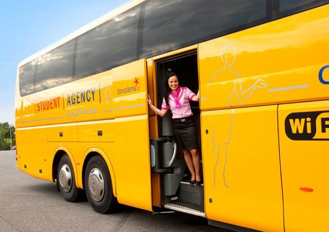 RegioJet отказался от бортпроводников в автобусах