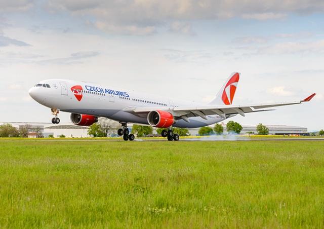 «Чешские авиалинии» объявили о сокращении всех своих сотрудников