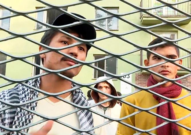Нелегальные мигранты подняли бунт в чешском центре временного содержания