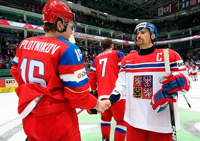 Российским СМИ запретили снимать тренировку сборной Чехии по хоккею