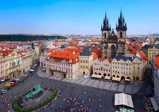 Чешских олимпийцев торжественно встретят на Староместской площади Праги