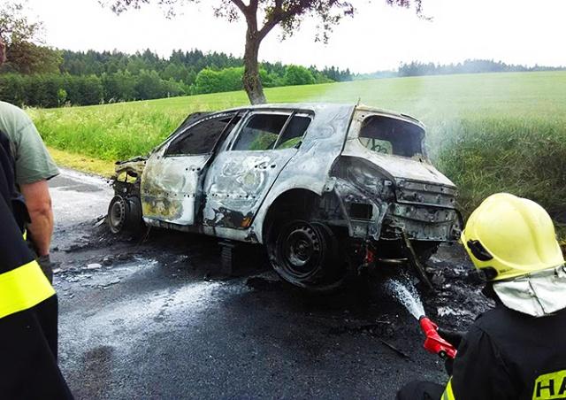 В Чехии авто попало в ДТП с женщиной в багажнике
