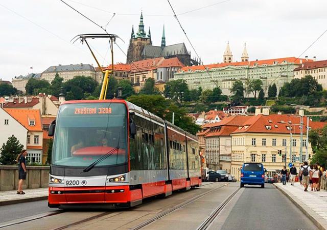 В Праге проездной можно будет записать на банковскую карту