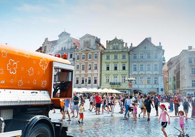 В Чехию идет тропическая жара