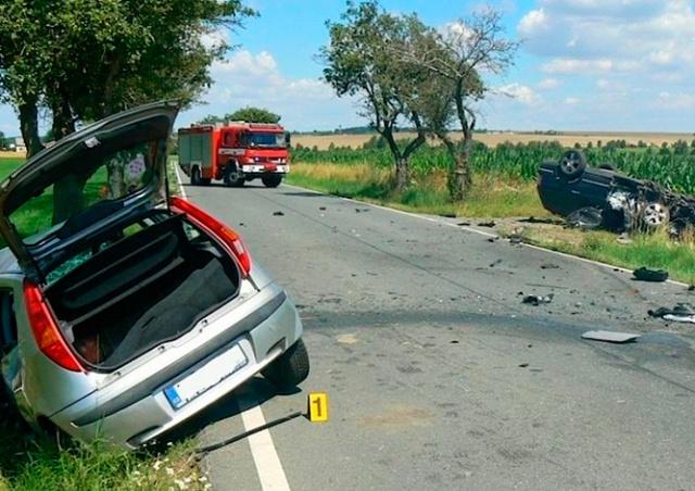 Названы самые опасные места для водителей в Чехии