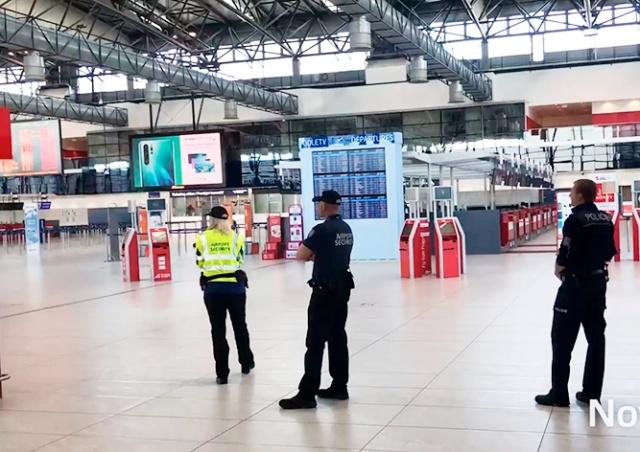 «Угрозу взрыва» в аэропорту Праги вызвал языковой барьер