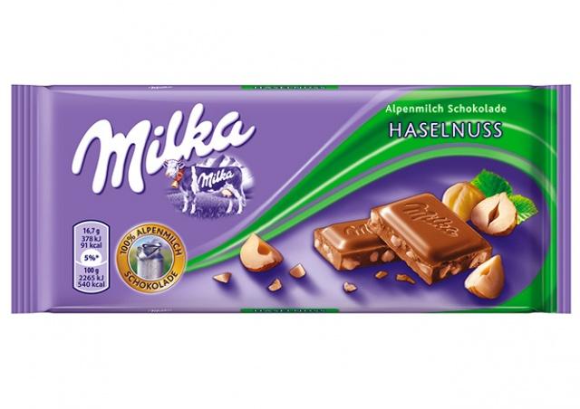 В Чехии заметили «молчаливое похудение» шоколада Milka