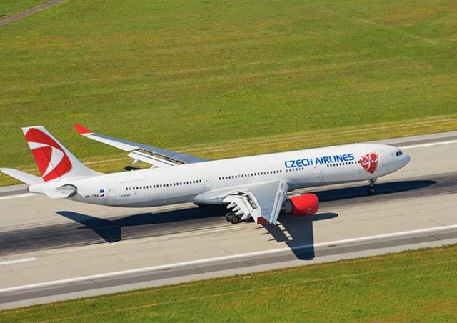 «Чешские авиалинии» возобновили международные рейсы