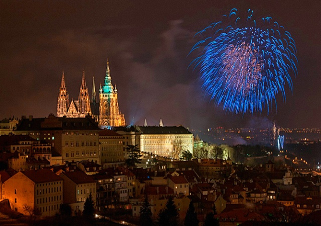 Прага фейерверком отметит 100-летие образования Чехословакии