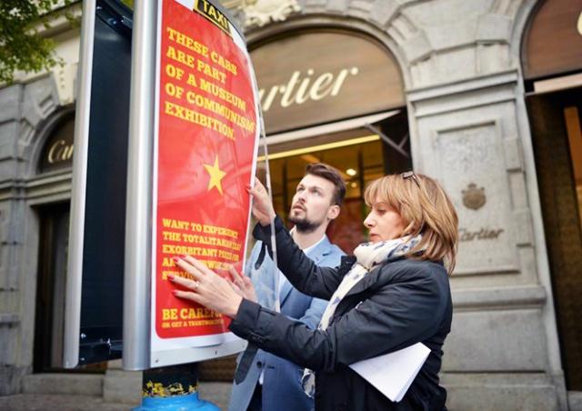 Прага сравнила нечестных таксистов с коммунистами