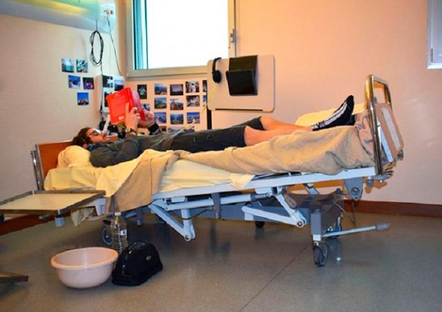 Институт заплатит добровольцам по 16 тыс. евро за два месяца в постели