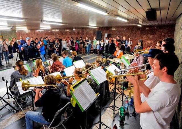 В четверг пражское метро превратится в концертную площадку