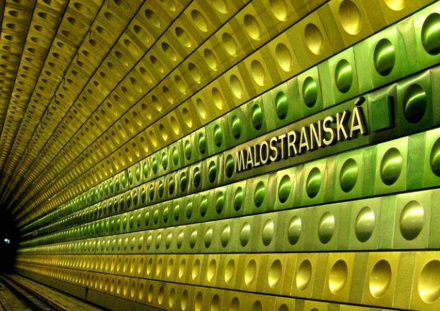 В Праге экстренно закрыли станцию метро Malostranská