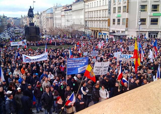 Чехия обогнала США по уровню политических и гражданских свобод