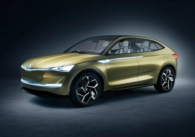 Škoda представила свой первый электромобиль