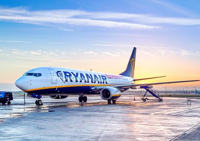 У Ryanair появятся рейсы с пересадками
