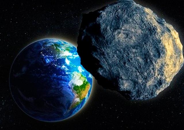 В ночь на 20 апреля к Земле приблизится крупный астероид