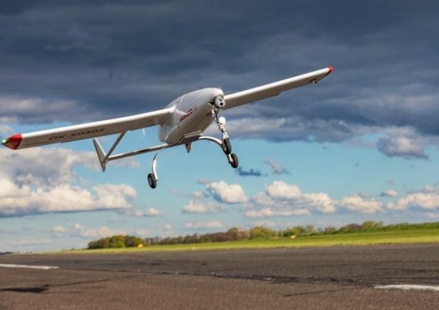 Чешский дрон установил мировой рекорд продолжительности полета