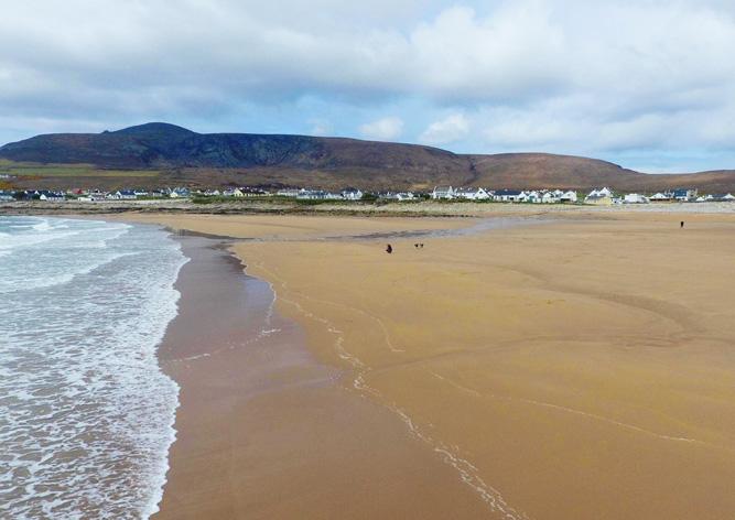 ВИрландии появился берег, исчезнувший около 30 лет назад