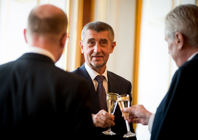 Президент Чехии отправил в отставку главу Минфина Андрея Бабиша