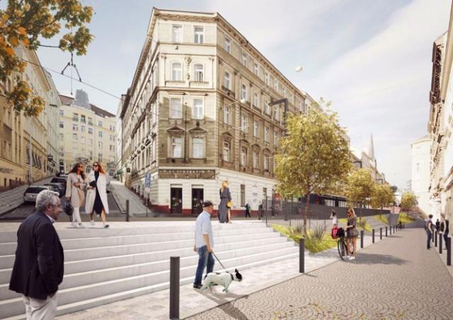 Пражскую улицу Seifertova ждет реконструкция