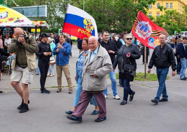 В Праге протестовали против ансамбля им. Александрова: фото
