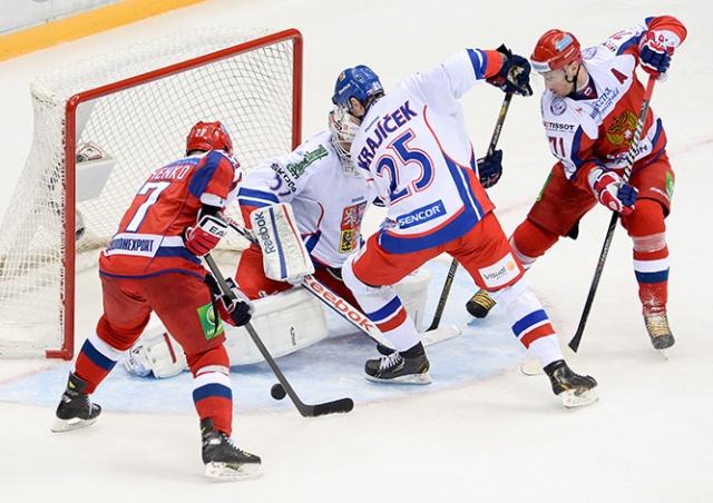 Чехия сыграет с Россией в четвертьфинале ЧМ по хоккею