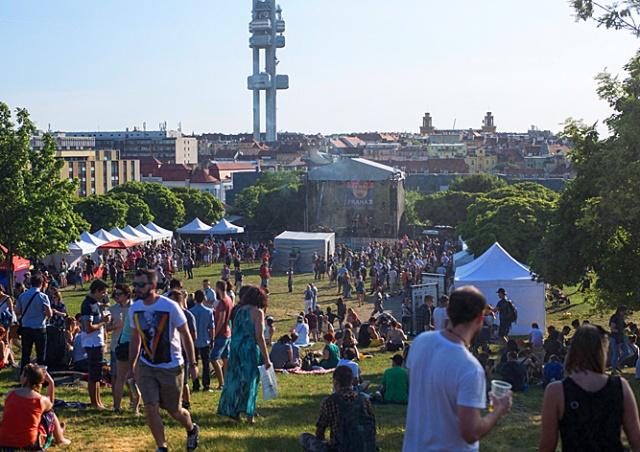 Каким был пивной фестиваль Žižkovské pivobraní в Праге: фото