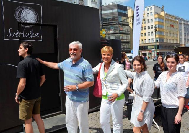 В Праге открылось кафе «В темноте»