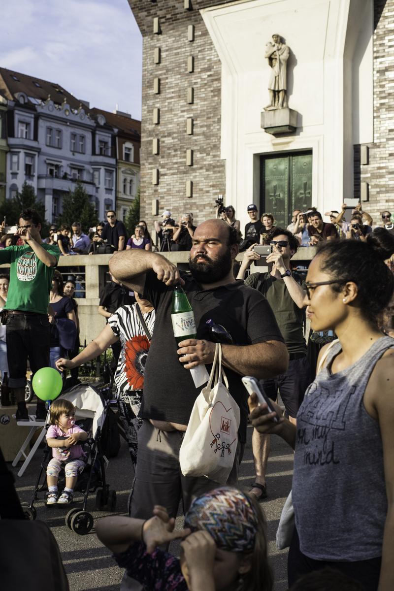 Конструкция Из Людей Возводимая Во Время Фестивалей В Каталонии