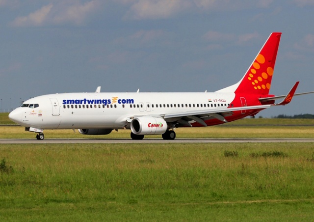 Самолет чешской авиакомпании SmartWings экстренно сел в Будапеште