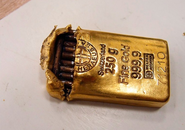 Чешский суд вынес вердикт по делу о ловкой подделке золотых слитков