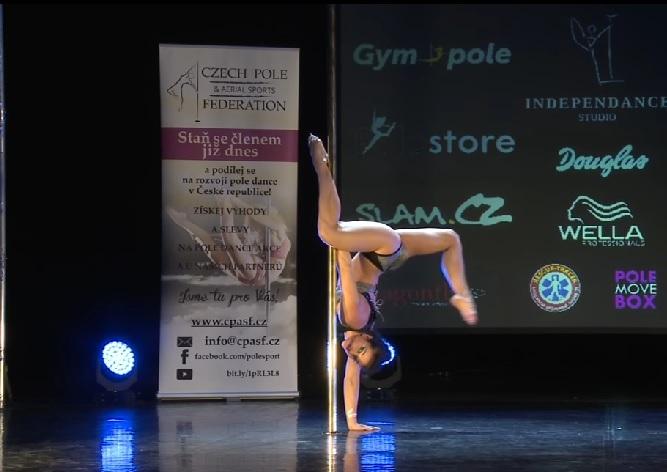 В Чемпионате Чехии по танцам на пилоне победила россиянка
