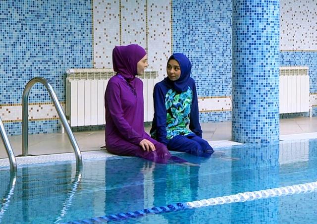Пражский аквапарк заступился за посетительниц-мусульманок