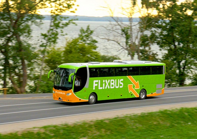 Акция у FlixBus: билеты по 25 крон