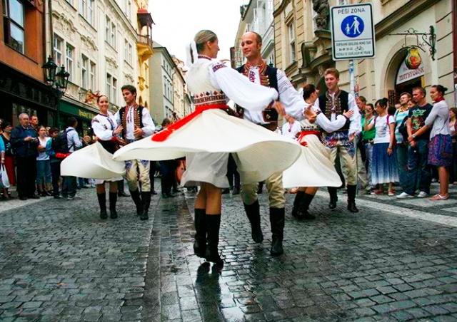 В Праге стартовал международный фольклорный фестиваль