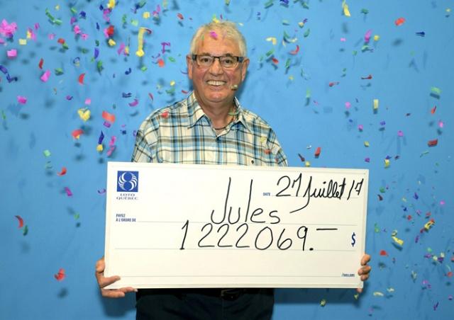 Канадский пенсионер второй раз выиграл в лотерею миллион долларов