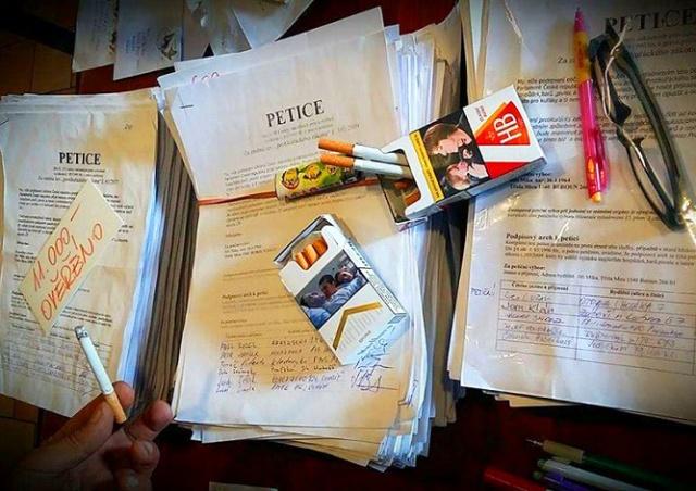 В Чехии петицию за отмену антитабачного закона подписали более 10 тыс. человек
