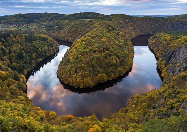 Сказочные чешские пейзажи в формате Timelapse: видео