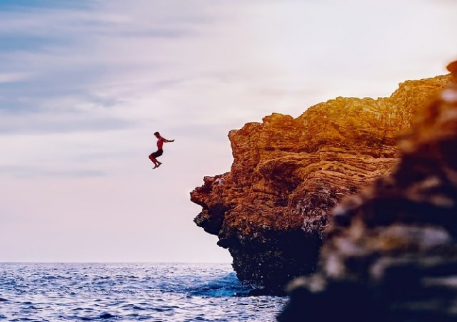В Чехии пройдет чемпионат по прыжкам со скалы в воду