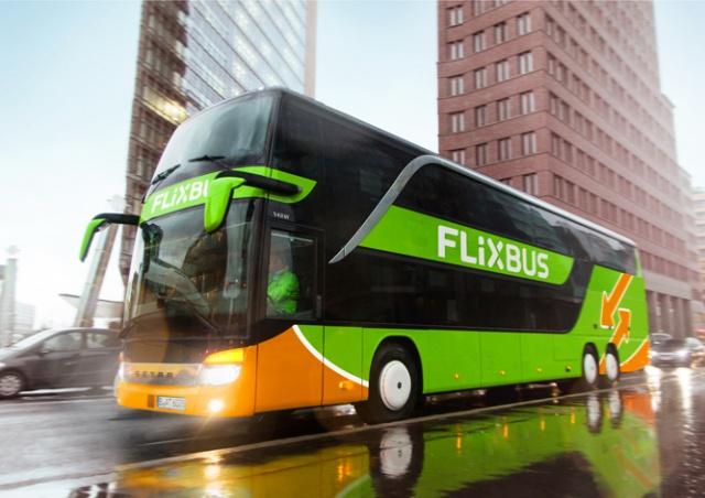 Распродажа у FlixBus: билеты по 19 крон