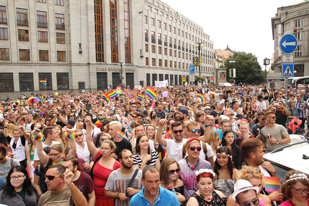 I came to berlin for gay pride six years ago, and never left