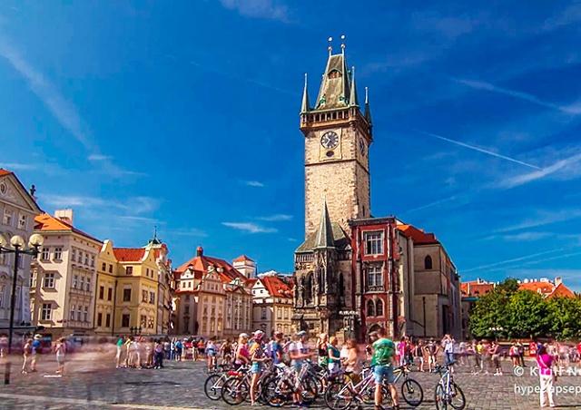Прага в формате Timelapse: завораживающее видео