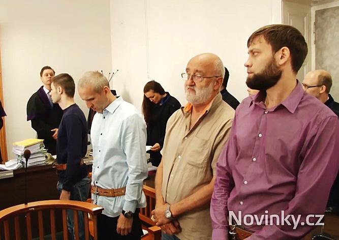 В Праге состоялся суд над бандой россиян-грабителей