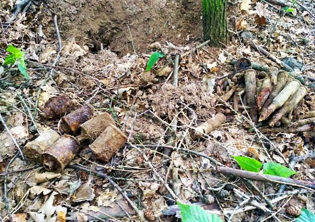 В пражском парке нашли гранаты времен Второй мировой войны