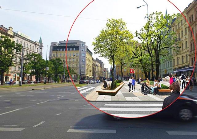 Как изменится автомагистраль в центре Праги: фото