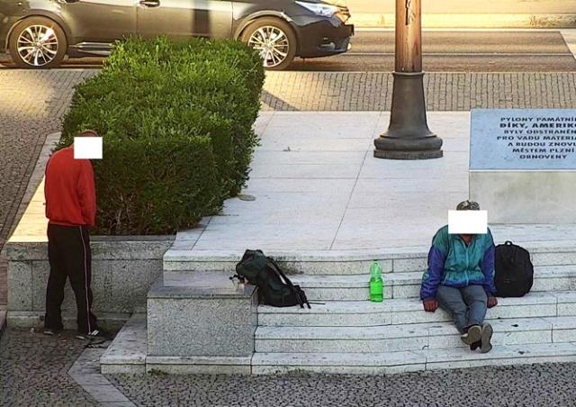 В Чехии иностранец справил нужду на памятник «Спасибо, Америка!»